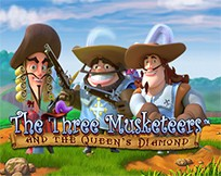 The Three Musketeers and The Queen's Diamond